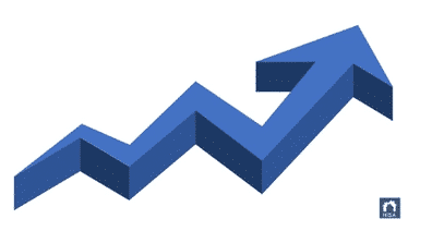Arrow to show growth with local SEO