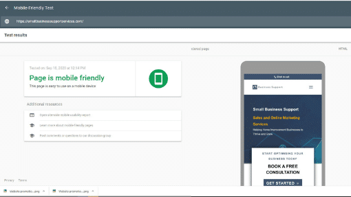 Website-promotion-Mobile-Friendly-Test